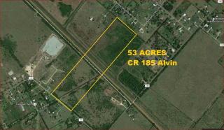 County Road 185 #53 - ACRES, Alvin TX