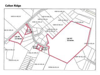LOTS1 2 5 11 12 Colton Ridge, Lancaster SC