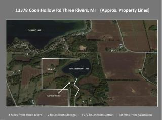 13378 Coon Hollow Road, Three Rivers MI