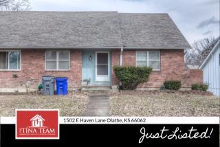 1502 East Haven Lane, Olathe KS