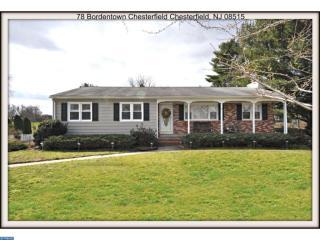 78 Bordentown Chesterfield Road, Chesterfield NJ