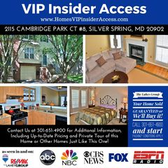 2115 Cambridge Park Ct #8, Silver Spring, MD