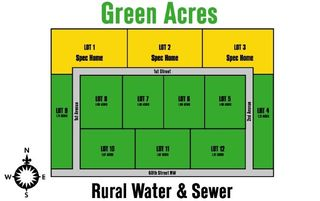 Green Acres Subdivision, Tioga, ND