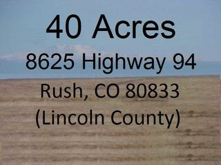 8625 State Highway 94, Rush, CO