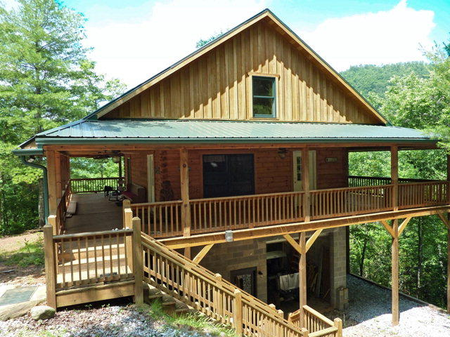 mountains nc mountain blue cabin lodging the murphy my smoky in rentals icon cabins ridge