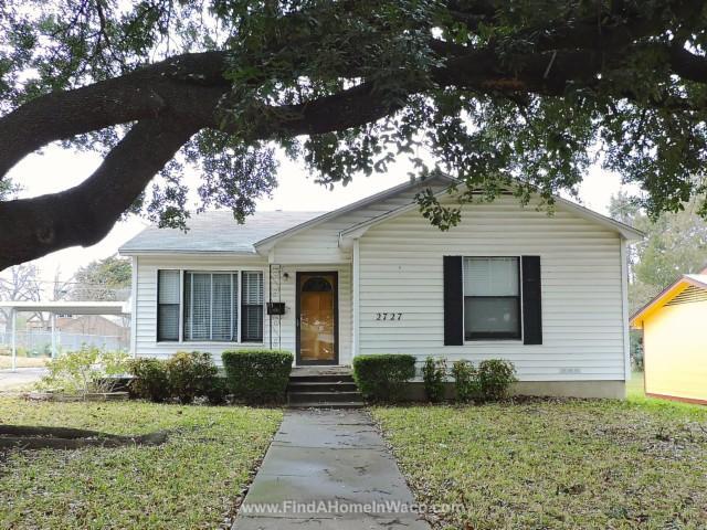 2727 Maple Ave Waco Tx 76707 3 Bed 2 Bath Single Family Home
