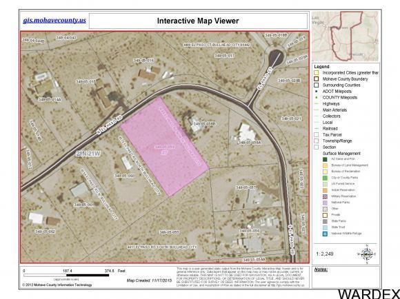 4384 El Paso Rd N Bullhead City Az 86429 Lot Land 11 Photos