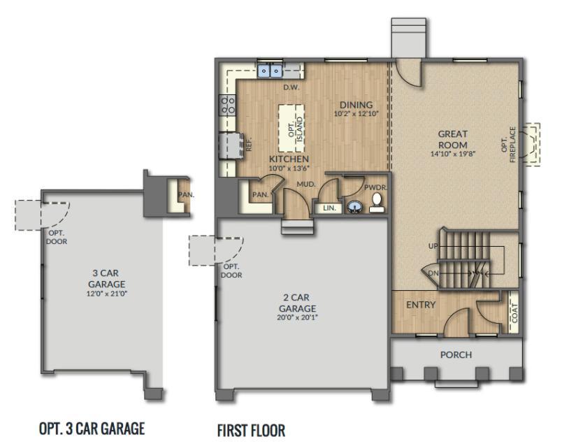 Spruce Westbrook Plan Vineyard Ut 84057 4 Bed 2 Bath Single