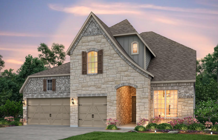 Cliffside Plan, Frisco, TX 75035 - 4 Bed, 3.5 Bath Single-Family Home on