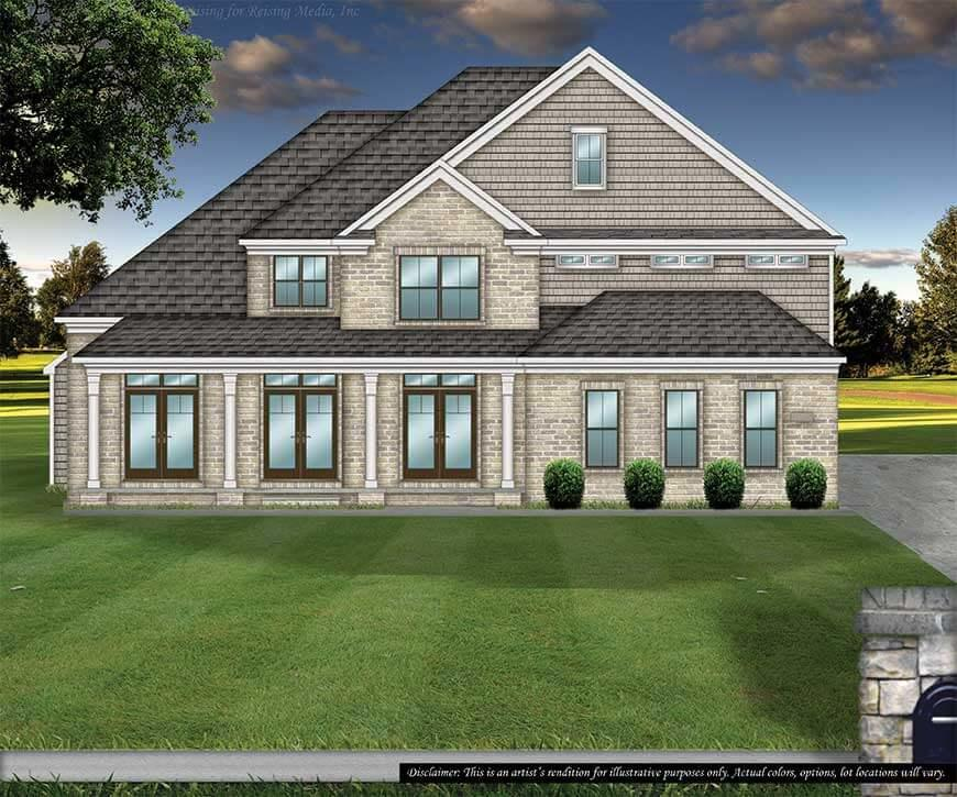 Greystone Plan Brecksville Oh 44141 4 Bed 4 Bath Single Family