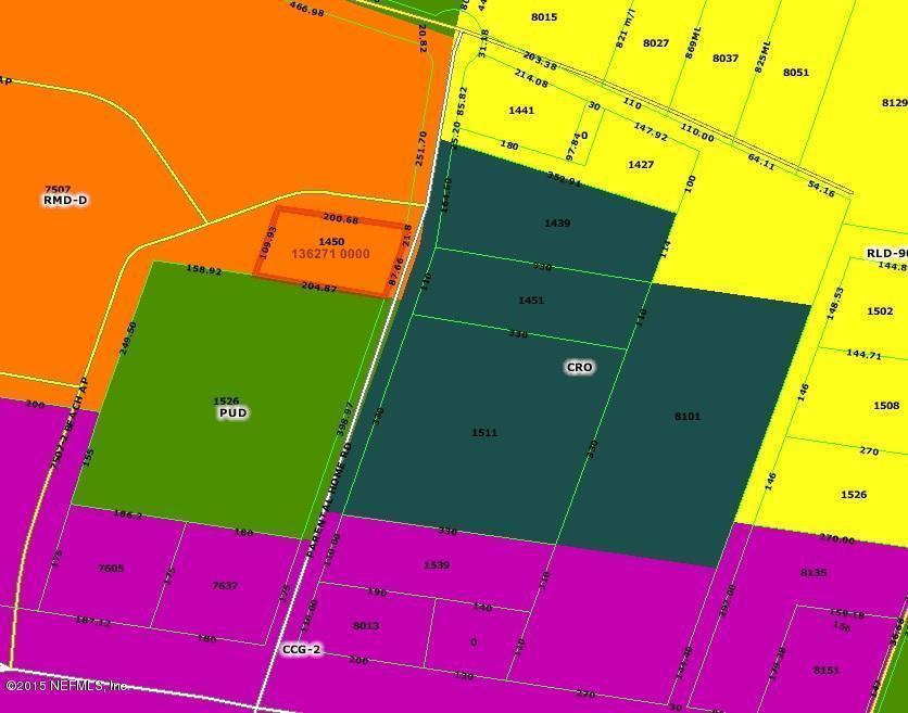 32216 Zip Code Map.1448 1450 Parental Home Rd Jacksonville Fl 32216 Multi Family