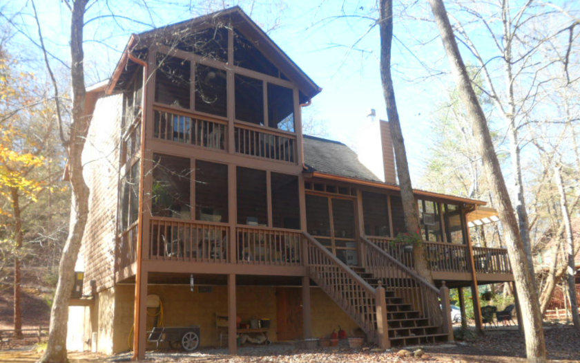 cabins real for estate trl sale norman harry foxhound in listing sold ellijay ga