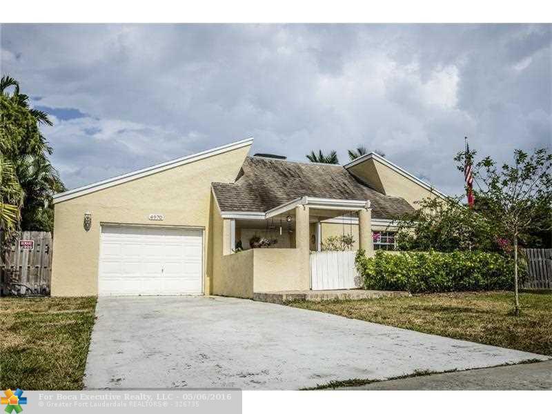 4970 SW 94th Way, Cooper City, FL 33328 - 3 Bed, 2 Bath