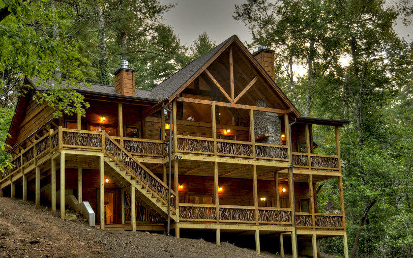 cabins north georgia ridge ga hayesville listingscabinsmtnview blue log for residential view sale mountain