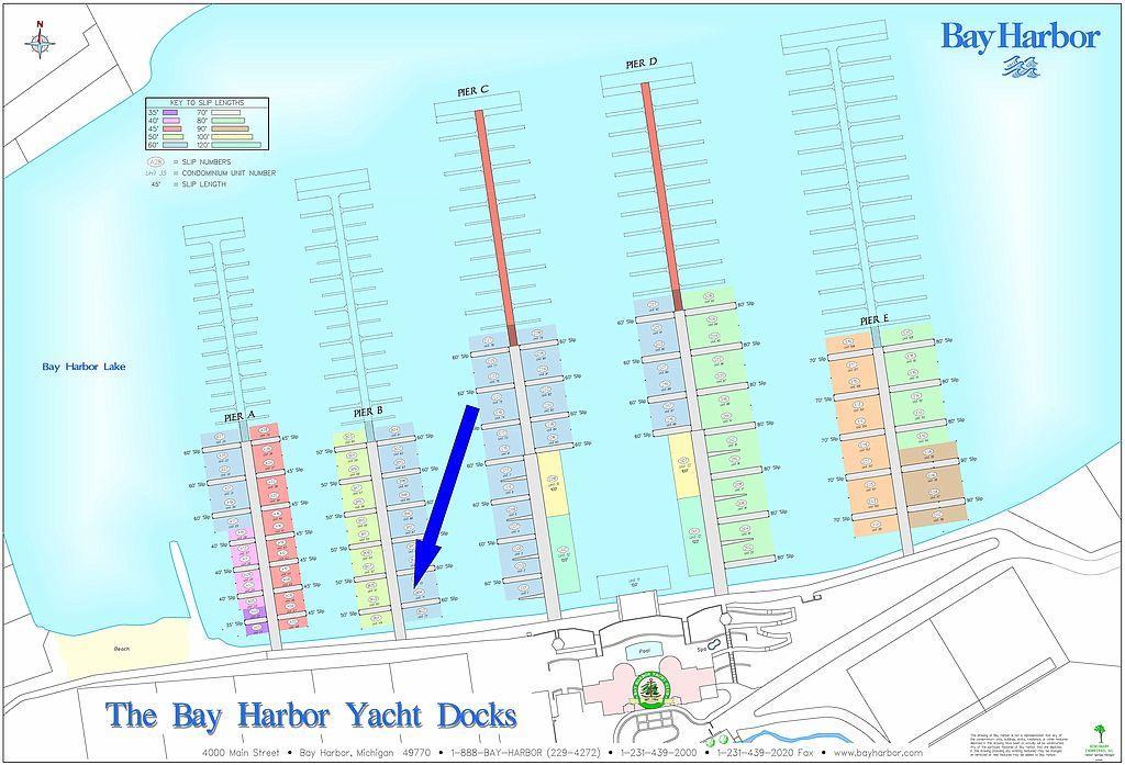 4300 Vista Drive Bay Harbor Yacht Docks Bay Harbor Mi 49770