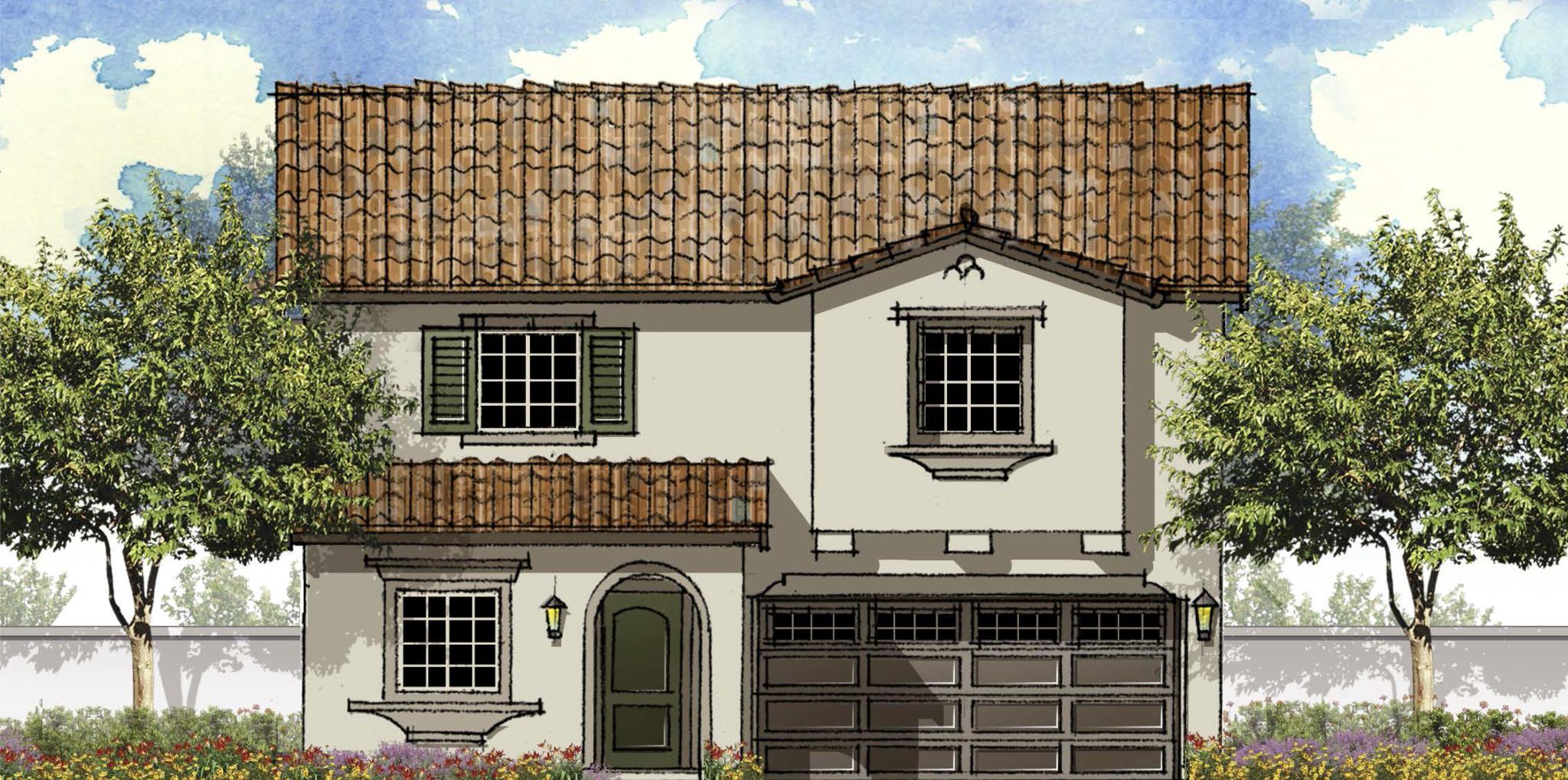 Residence Alder Pointe Plan For Sale Fontana CA