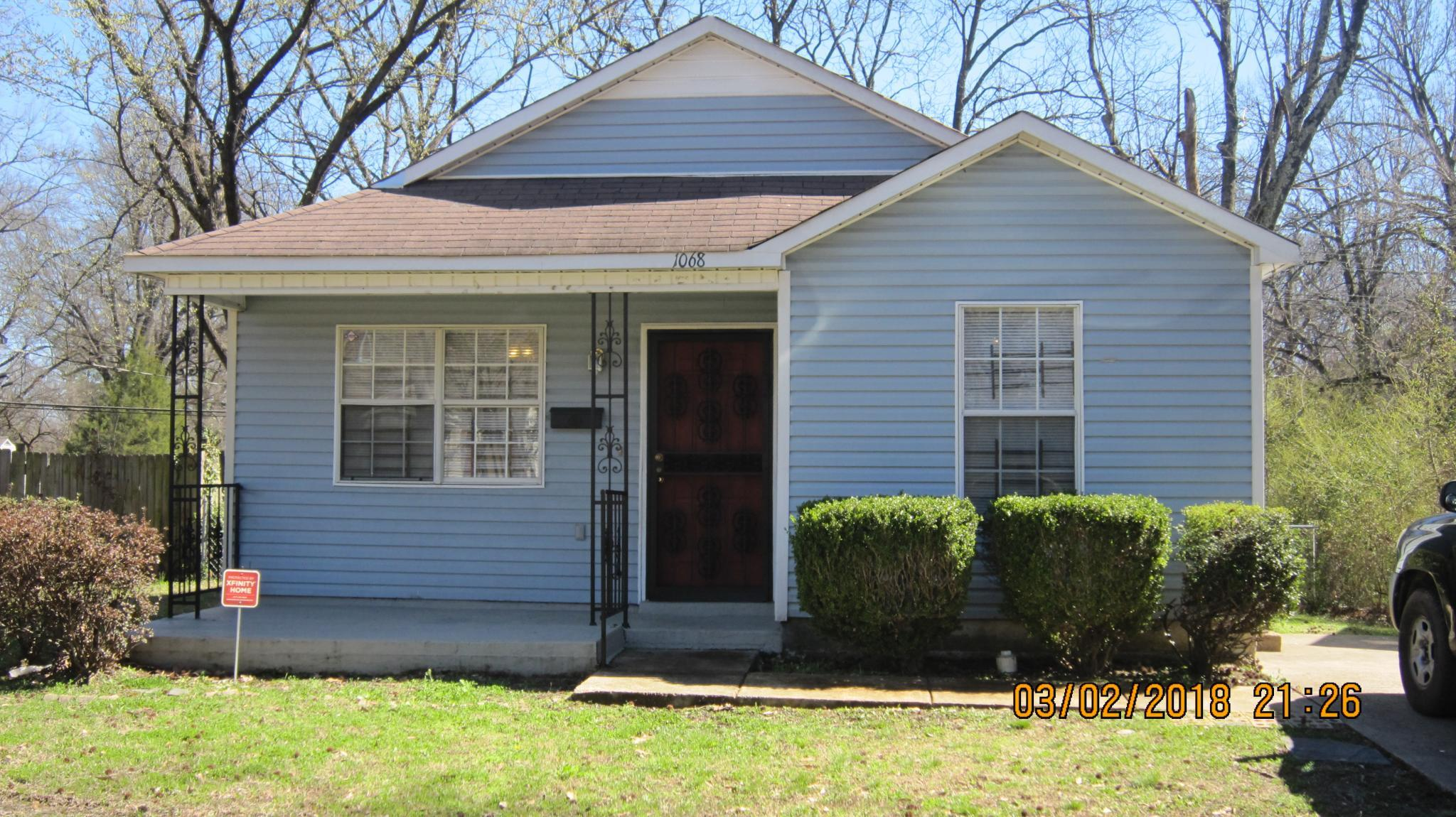 1068 S Greer St For Rent Memphis TN