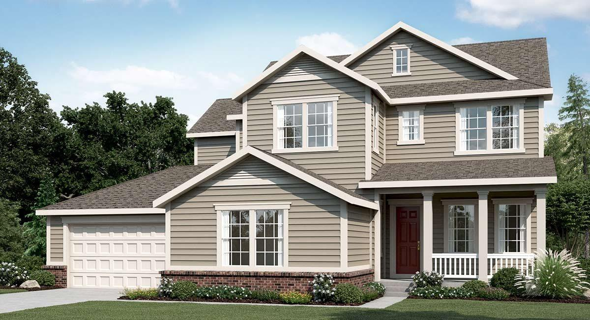 Compass 6000s By Calatlantic Homes New Homes For Sale Erie Co