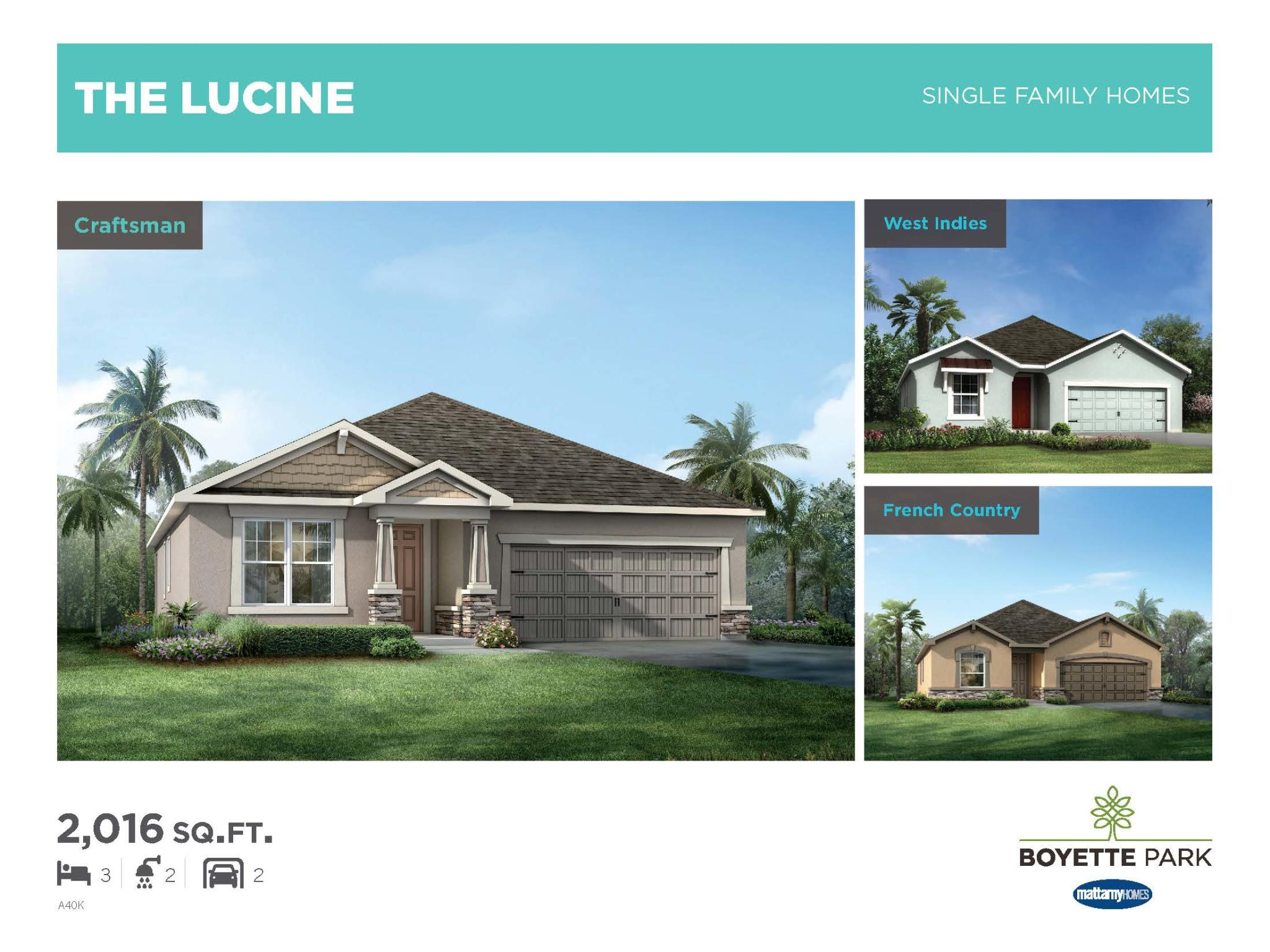Lucine Single Family Home Plan Riverview Fl 33569 Trulia