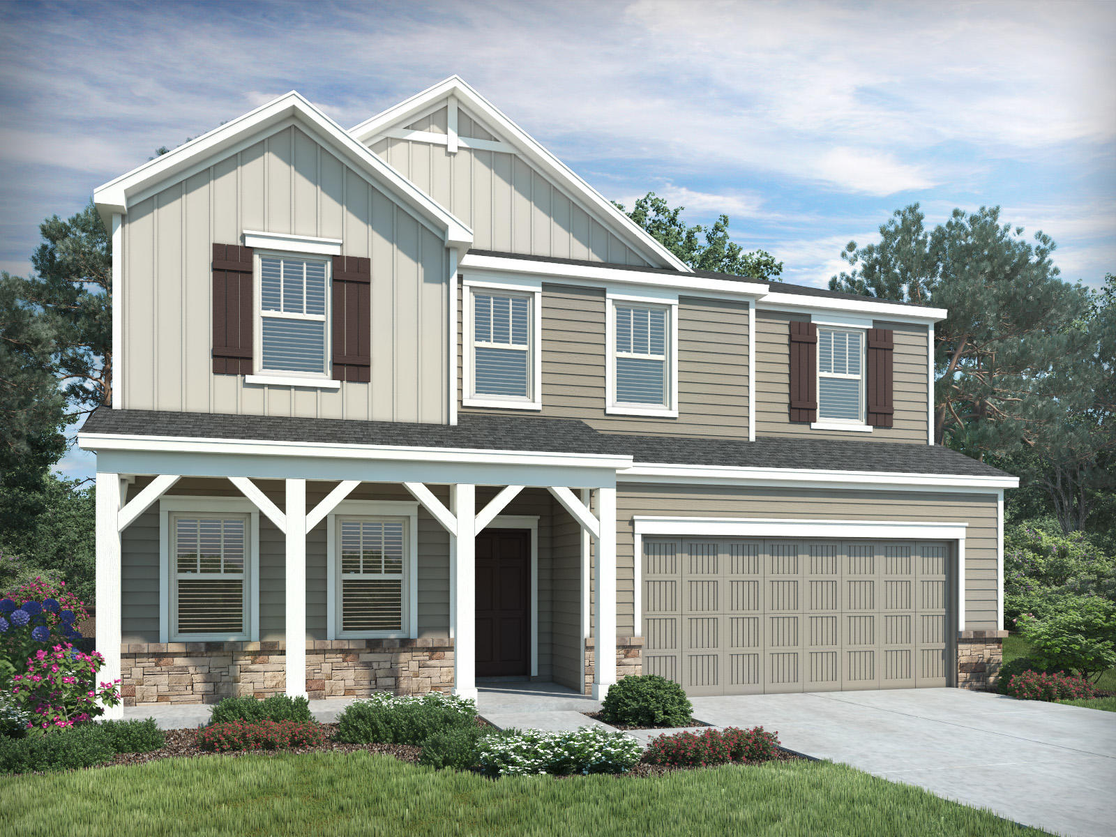 Tremendous Chastain Plan Marietta Ga 30008 5 Bed 3 Bath Single Family Home 3 Photos Trulia Home Interior And Landscaping Elinuenasavecom