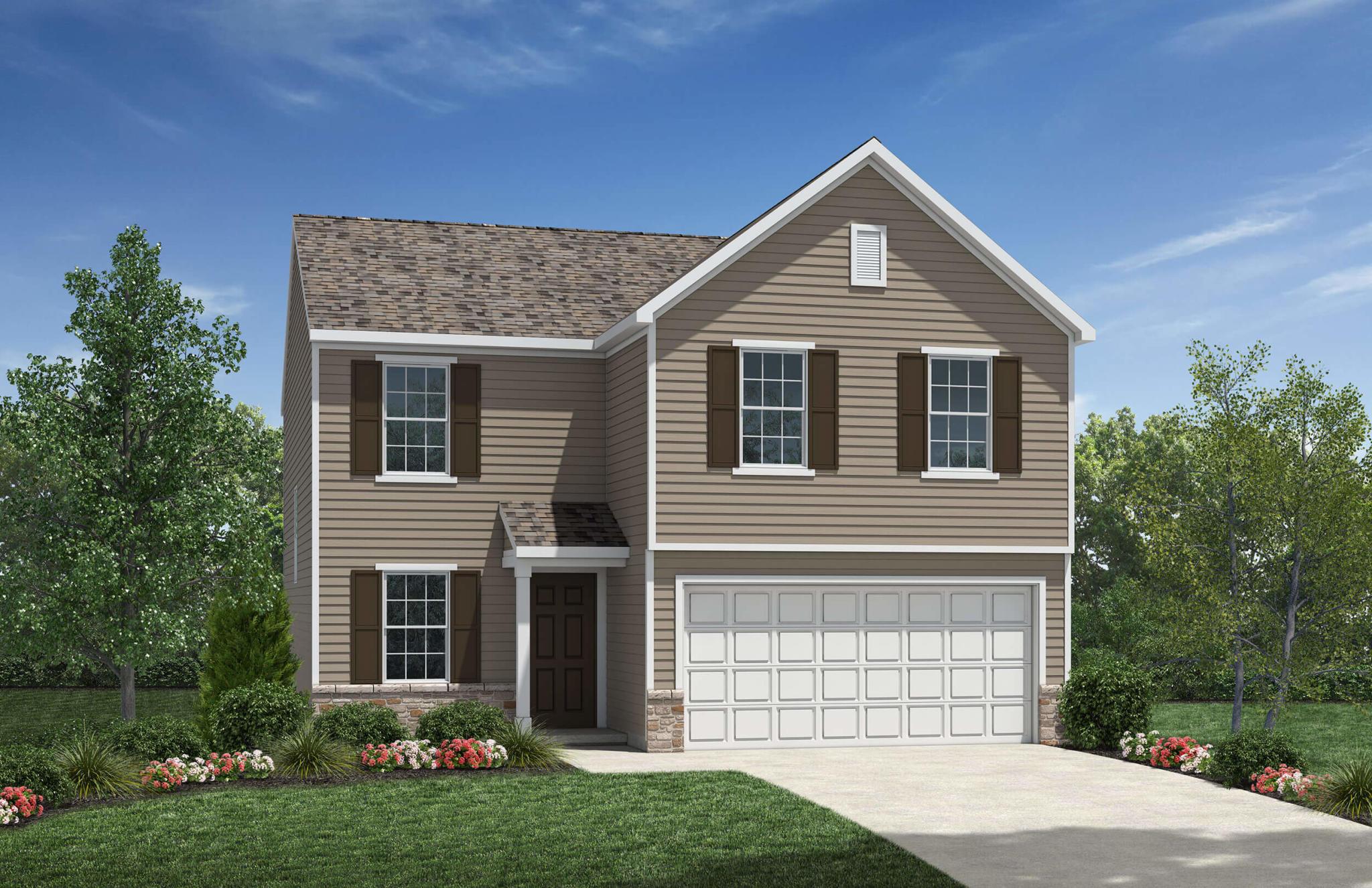 Belmont Plan, Pickerington, OH 43147 - 3 Bed, 2 5 Bath Single-Family Home -  7 Photos | Trulia