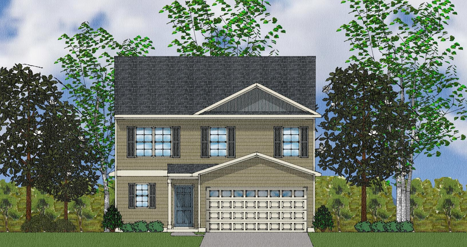 Monroe Plan, Pooler, GA 31322 - 4 Bed, 2 5 Bath Single-Family Home - 7  Photos | Trulia