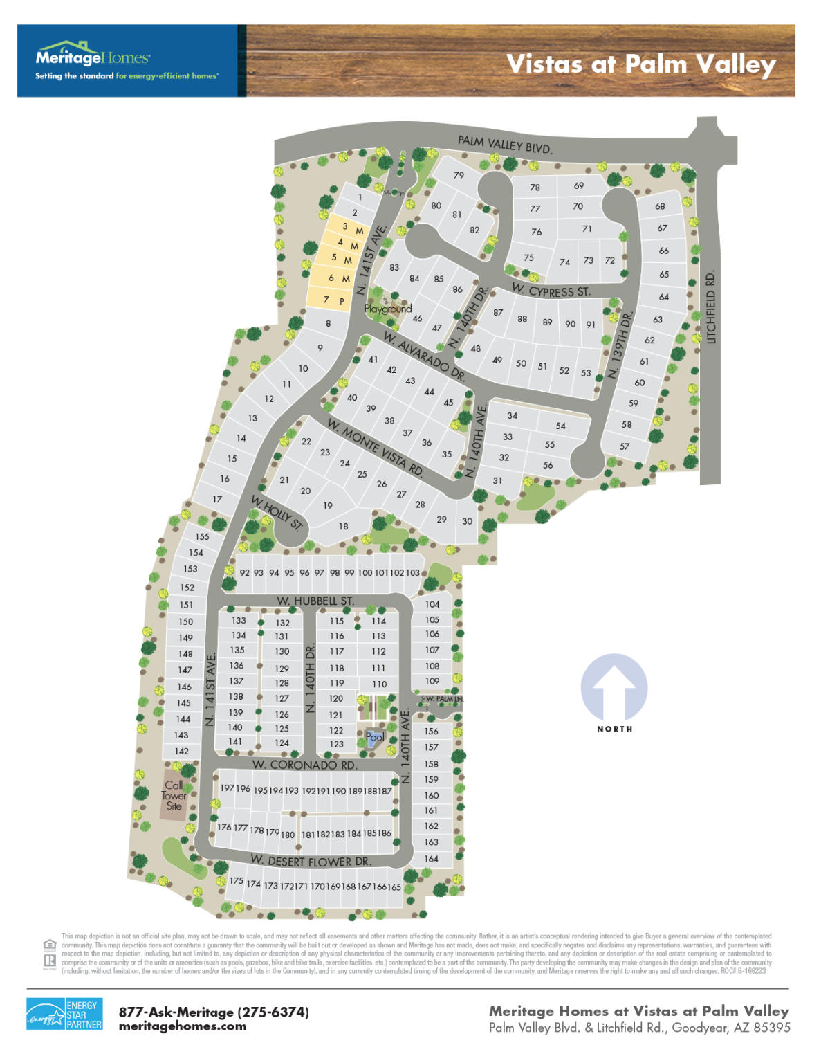 Vistas At Palm Valley By Meritage Homes New Homes For Sale
