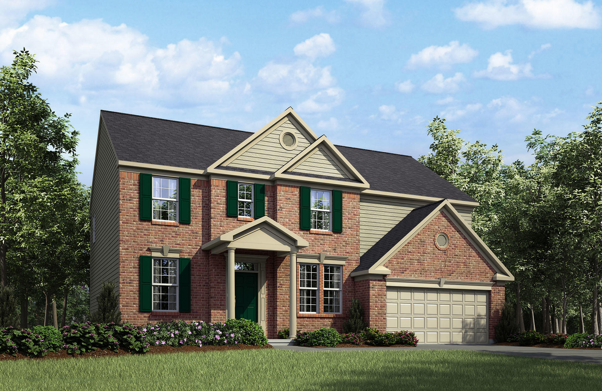 Quentin Plan, Frederick, MD 21704 - 4 Bed, 2.5 Bath Single-Family Home on centex home plans, green home plans, stilt home floor plans, white home plans, pulte home plans, nelson home plans,