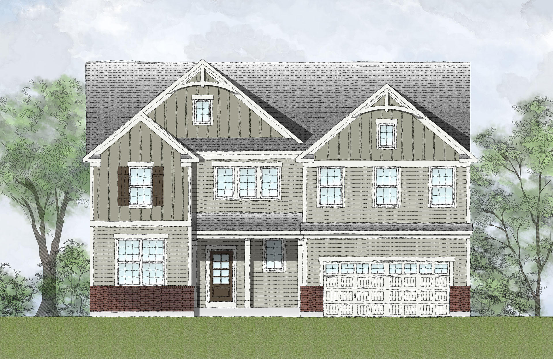 Hollister Plan, Columbus, IN 47201 - 4 Bed, 2.5 Bath Single-Family on