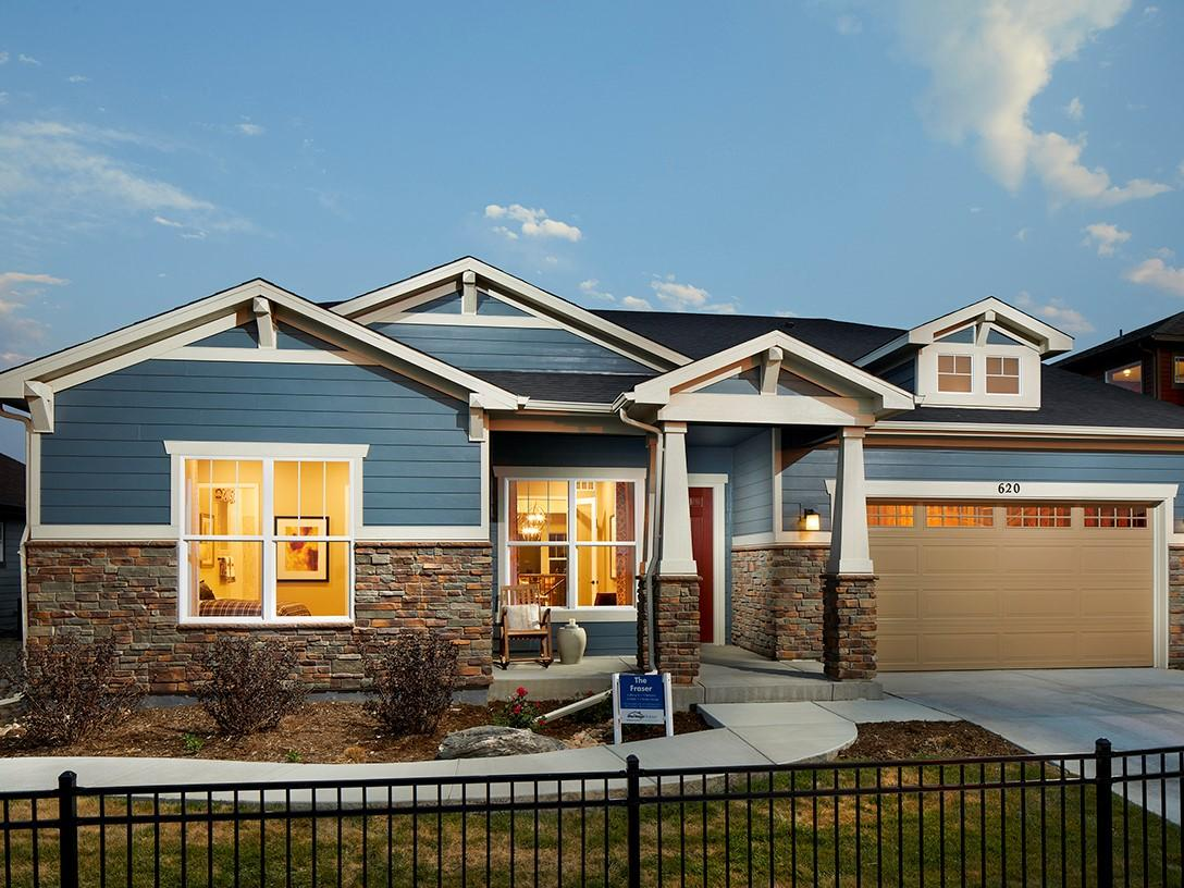 Trails At Coal Creek The Alpine Collection By Meritage Homes New