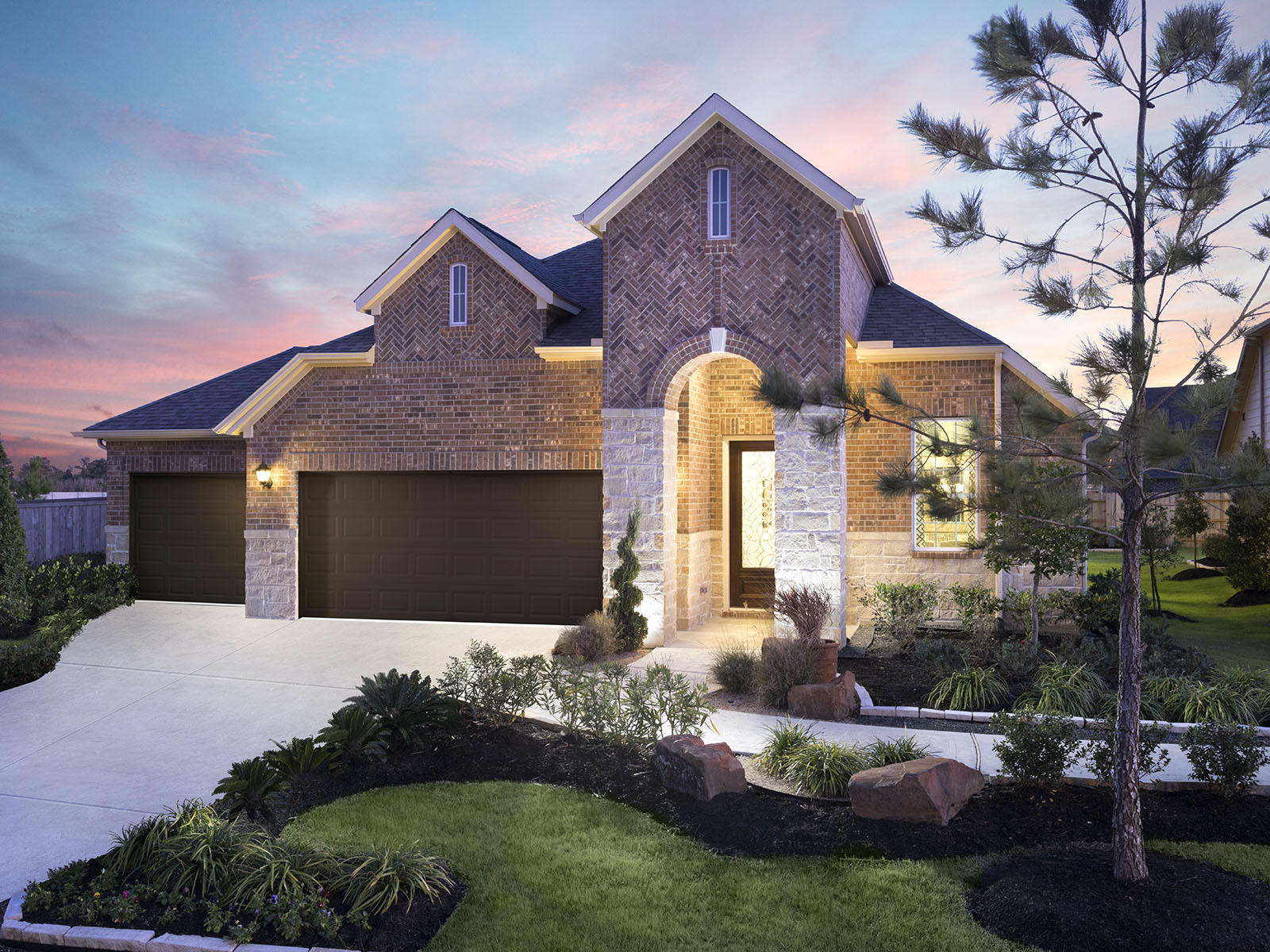 Riverstone Ranch The Manor Classic By Meritage Homes New