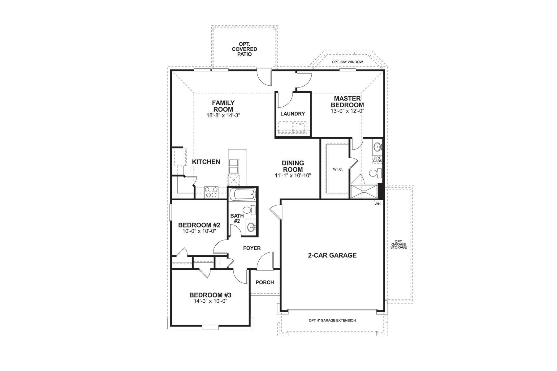 Pleasant Pineda Plan San Antonio Tx 78253 3 Bed 2 Bath Single Family Home Trulia Download Free Architecture Designs Jebrpmadebymaigaardcom