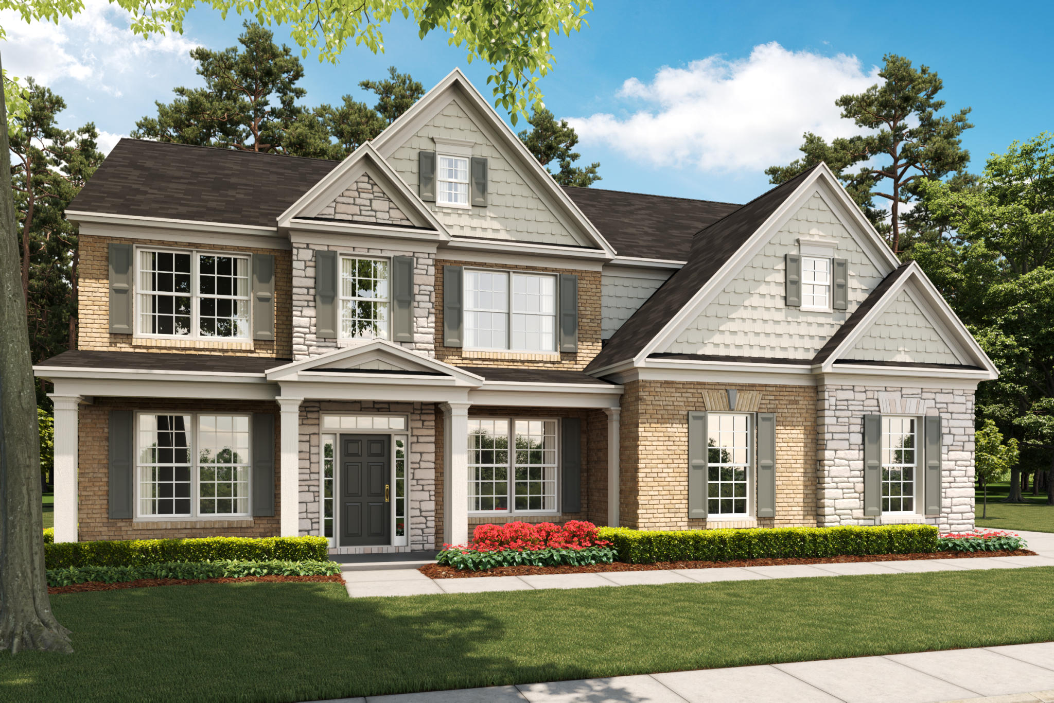 Westfall By Sharp Residential New Homes For Sale Cumming Ga