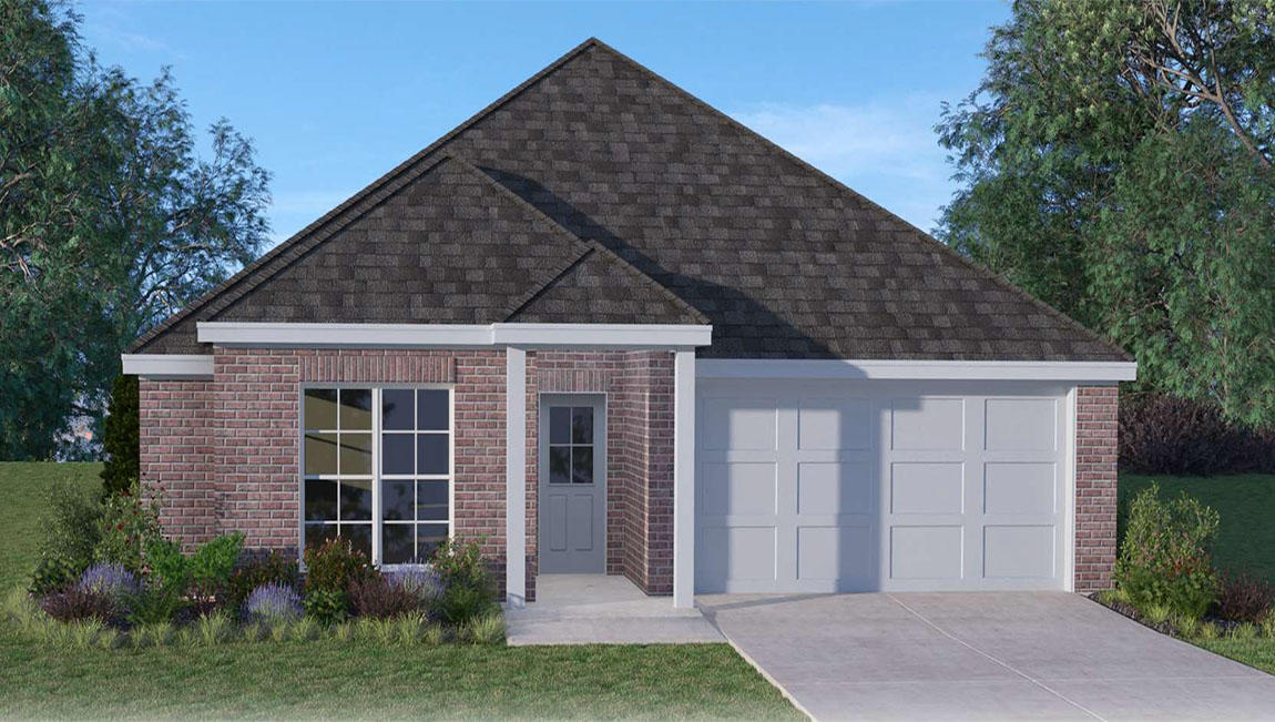 Avery Plan, Rayne, LA 70578 - 4 Bed, 2 Bath Single-Family Home - 4 on lennar home plans, toll brothers home plans, pulte home plans,