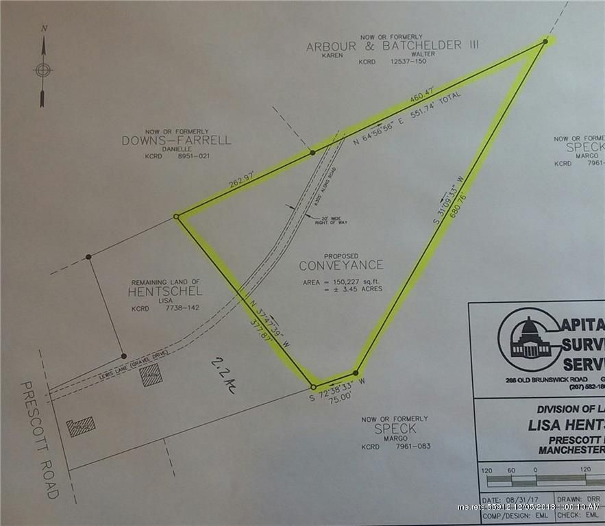 Address Not Disclosed Manchester Me 04351 Lot Land Mls