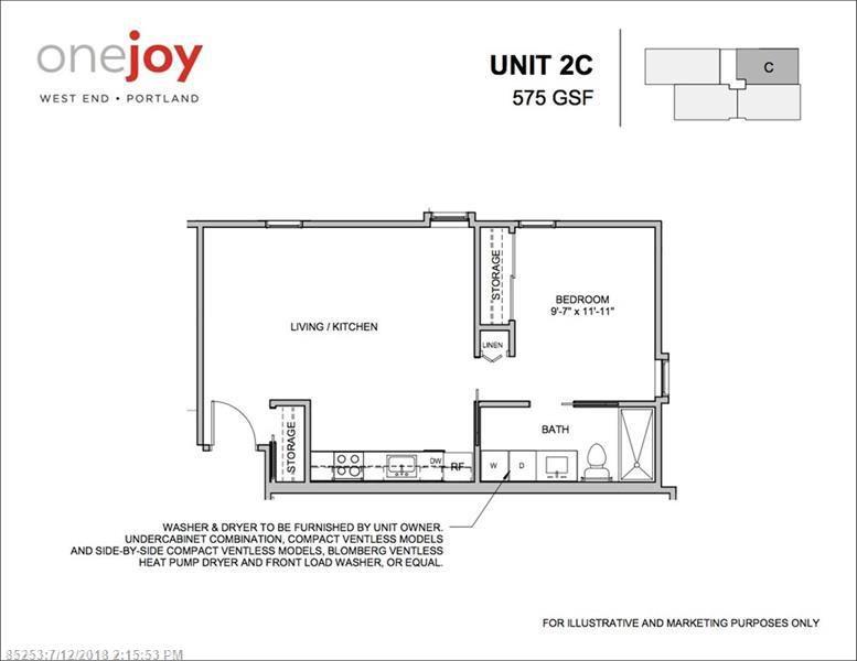 1 Joy Pl #2C