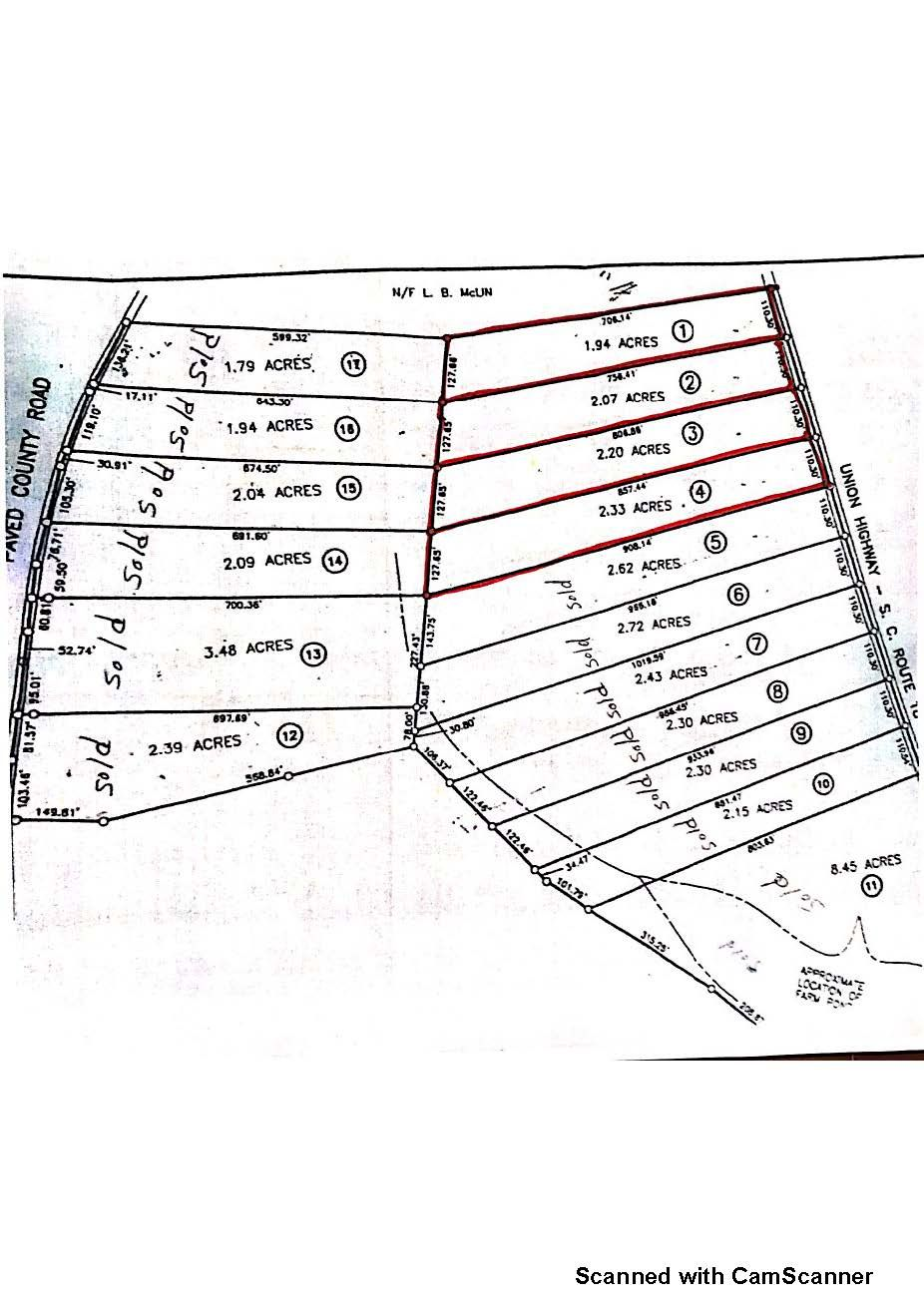 6240 Union Hwy, Pacolet, SC 29372 - Lot/Land | Trulia