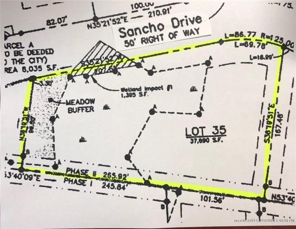 Sancho Dr 35 Saco Me 04072 3 Bed Lot Land Mls 1365612