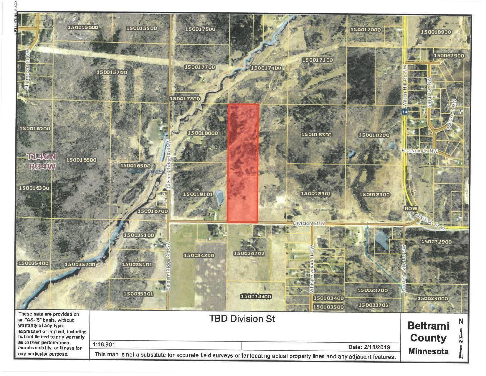 Bemidji Minnesota Map.Tbd Division St Bemidji Mn 56601 Lot Land Mls 19 267 Trulia
