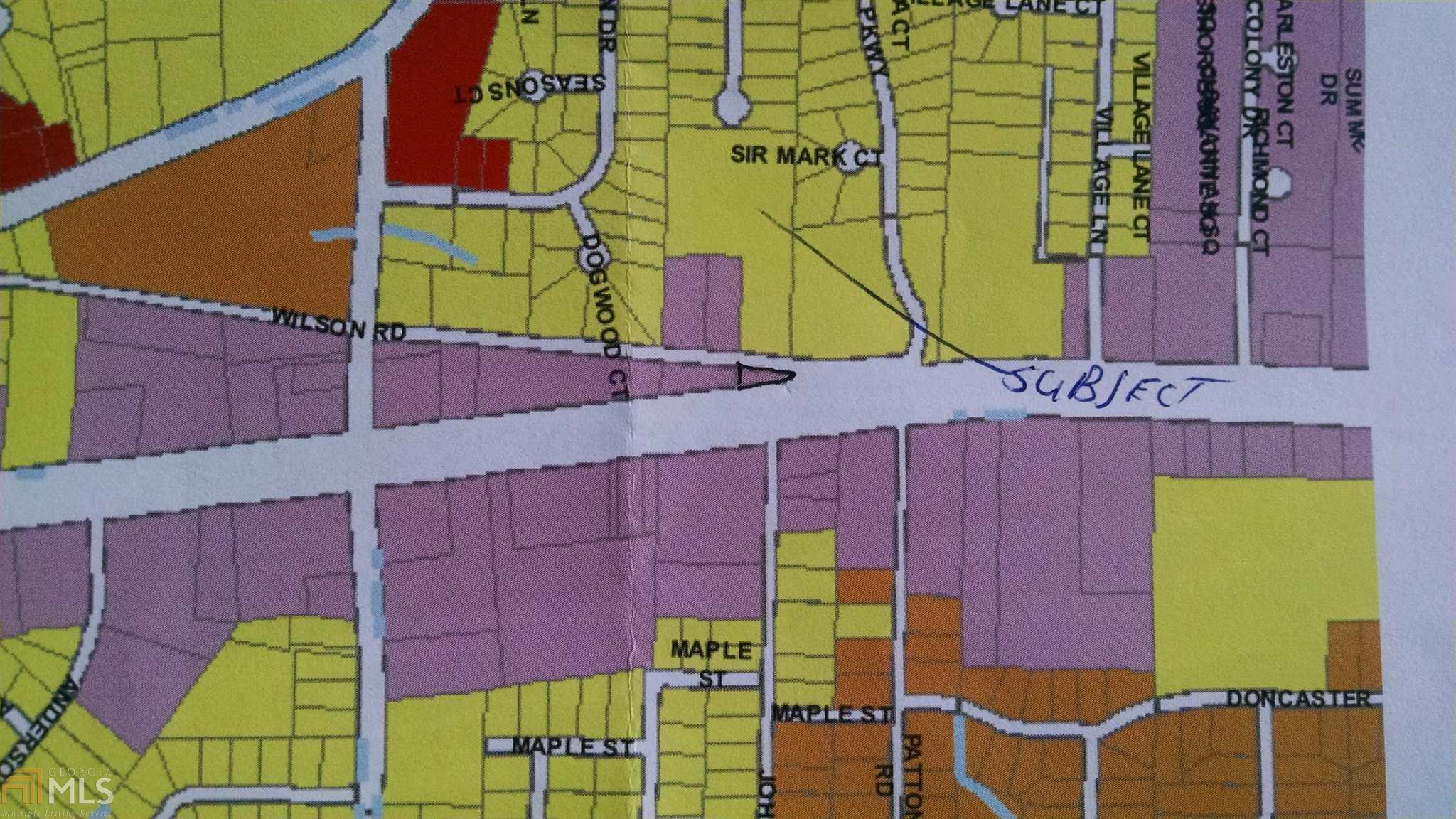 Map Of Jonesboro Georgia.6853 Tara Blvd Track Jonesboro Ga 30236 Lot Land Mls