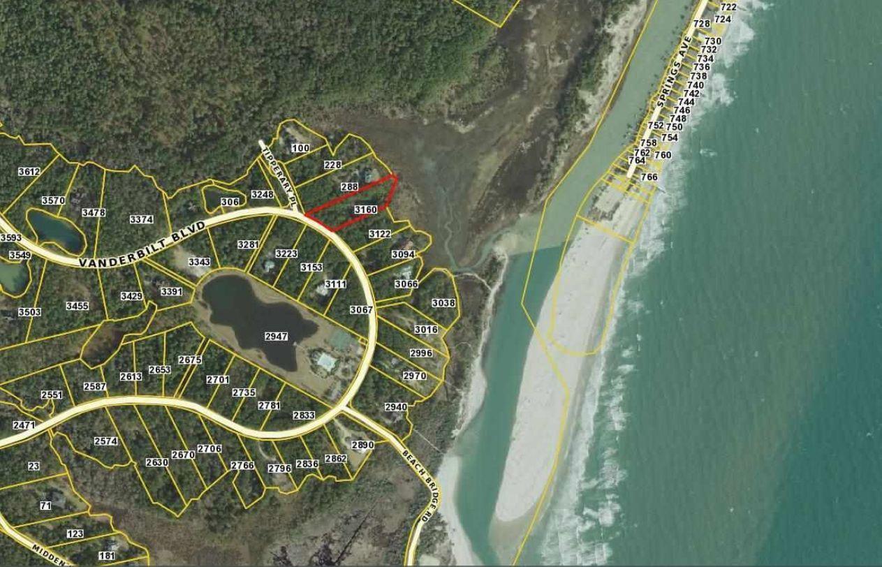 Pawleys Island South Carolina Map.Prince George Ocean 45 Pawleys Island Sc 29585 Lot Land 7