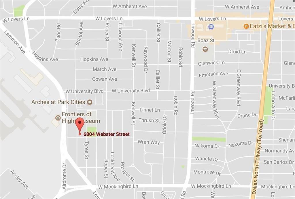 Park Cities Dallas Map.4807 W University Blvd Dallas Tx 75209 Trulia