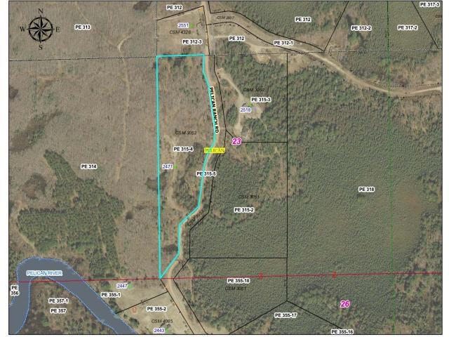2471 Pelican Ranch Rd Rhinelander Wi 54501 Lot Land Mls