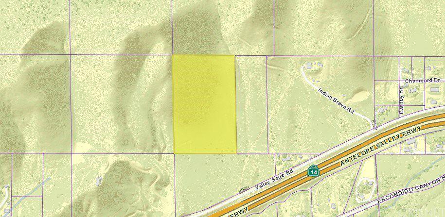 Agua Dulce California Map.Vac Vic Valleysage Road Tuthill Ln Agua Dulce Ca 91350 Lot Land