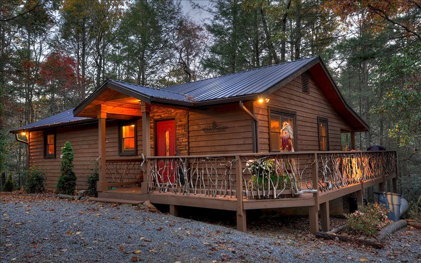 pin vista lodge rentals cabins bella blue cabin ridge georgia for of sale ga