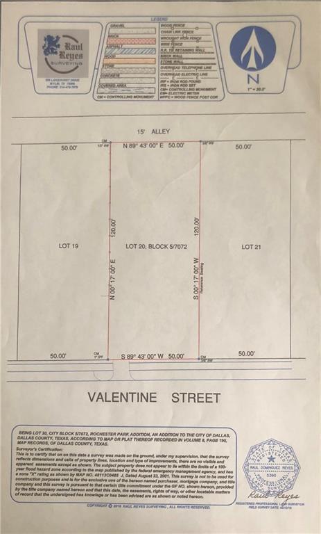 2817 Valentine St #20, Dallas, TX 75215 - Lot/Land - MLS #14088619 on