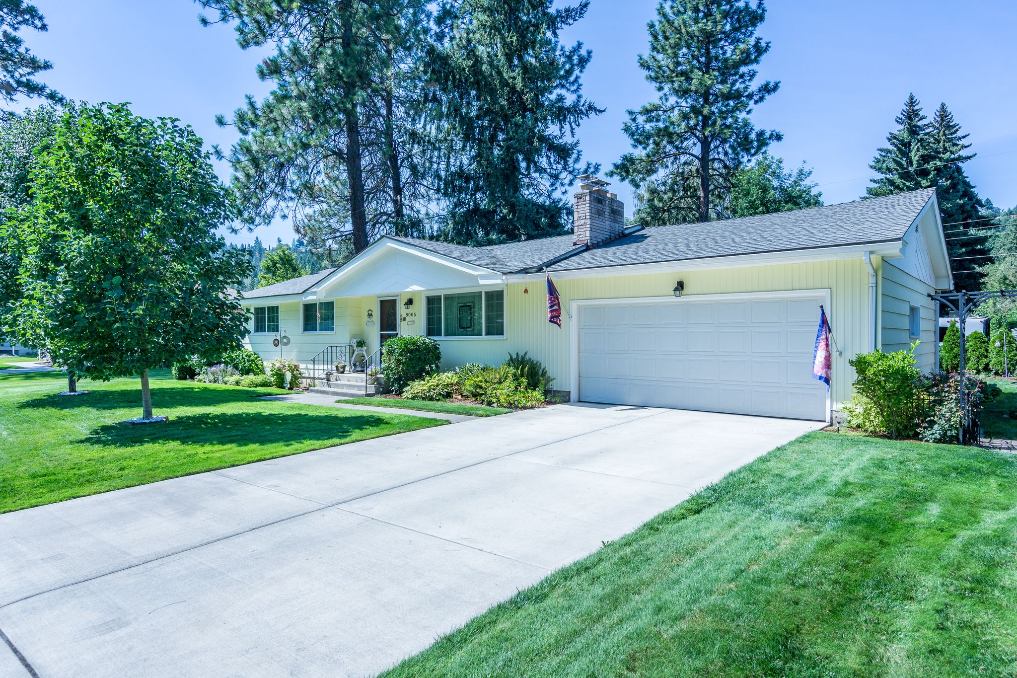 8005 N Fox Point Dr Spokane WA Recently Sold