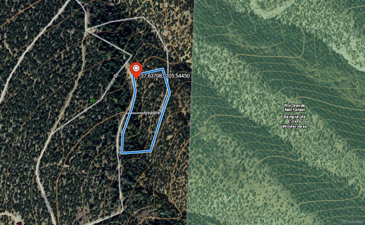 Mosca Colorado Map.7 Arrastre Rd Mosca Co 81146 Lot Land Mls 1980455 3
