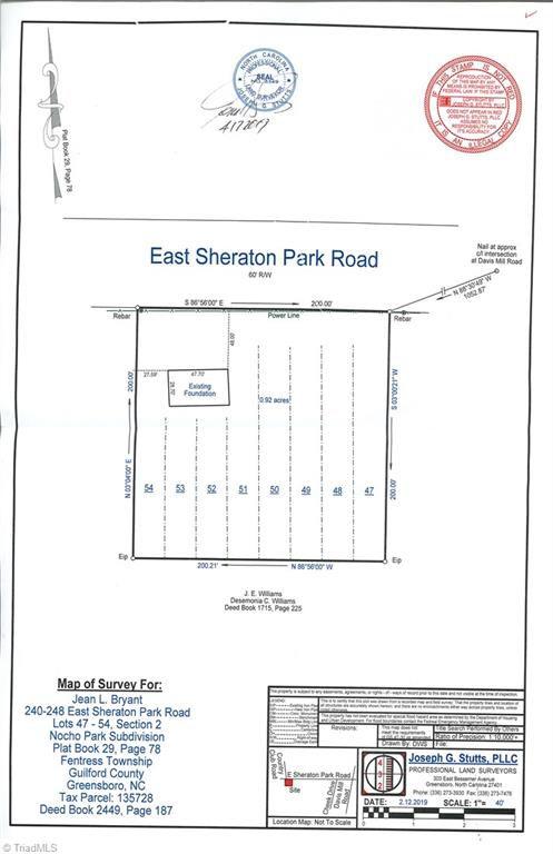 240 E Sheraton Park Rd, Greensboro, NC 27406 - Single-Family Home - MLS  #929957 | Trulia