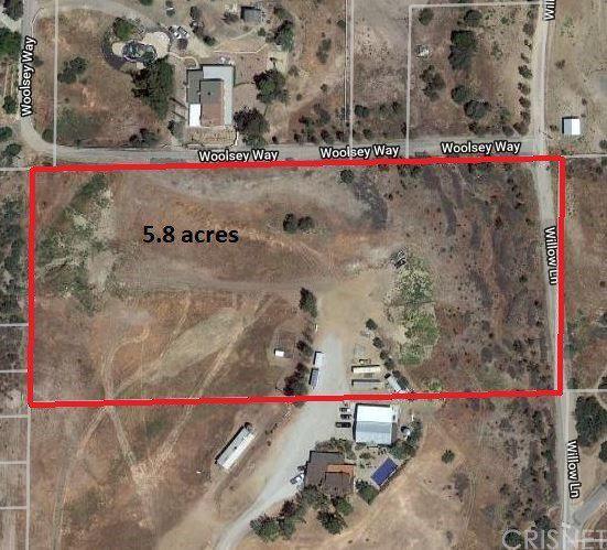 Agua Dulce California Map.Willow Lane Woolsey Way Agua Dulce Ca 91350 Lot Land Mls
